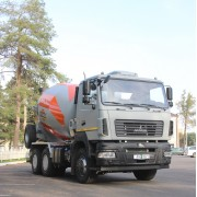 АВТОМОБИЛЬ-БЕТОНОСМЕСИТЕЛЬ АБС-9ДА НА ШАССИ МАЗ-6501С5